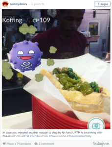 Pokemon Go Instagam Musei