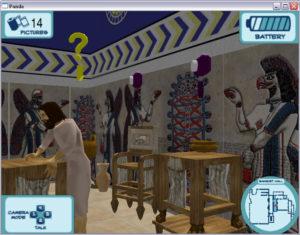 Discover Babylon Walter art museum videogame