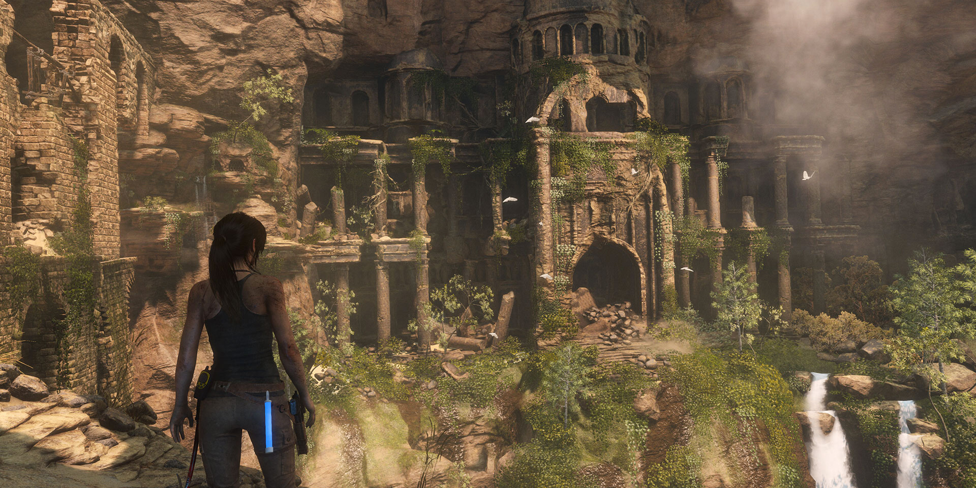 Rise of the Tomb Raider di Crystal Dynamics