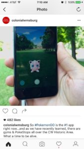 Pokemon Go social media musei