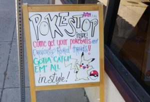 Poke Stops marketing musei