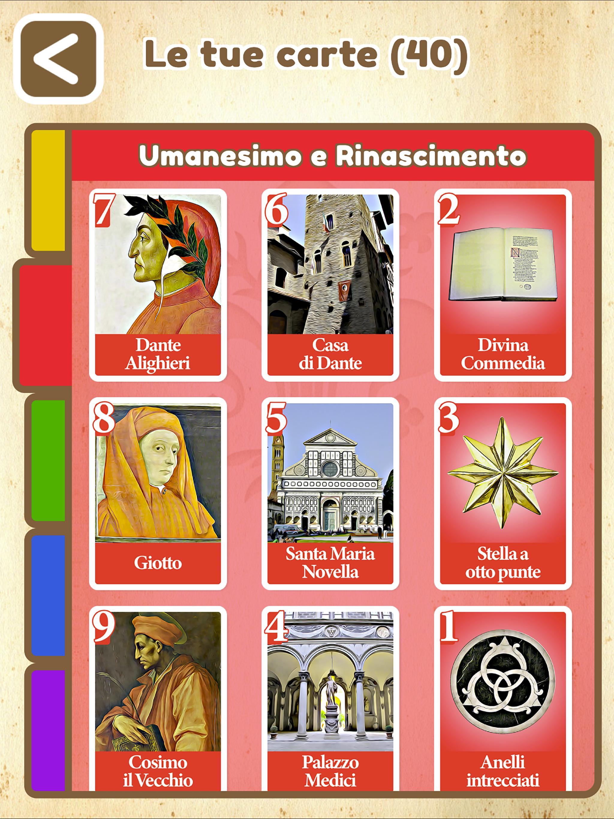 Le carte rare di Firenze