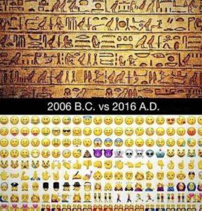 ritorno ad una società pre alfabetica